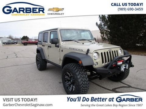 Pre-Owned 2018 Jeep Wrangler JK Unlimited Rubicon 4WD