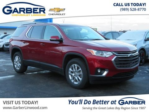 New 2019 Chevrolet Traverse LT Cloth w/1LT FWD SUV