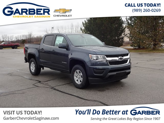 New 2019 Chevrolet Colorado Wt Truck In Saginaw K1187798 Garber