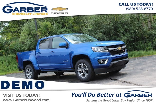 New 2019 Chevrolet Colorado Z71 Truck In Saginaw K1100341 Garber