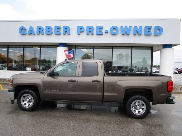 Pre-Owned 2014 Chevrolet Silverado 1500 Work Truck 2WT