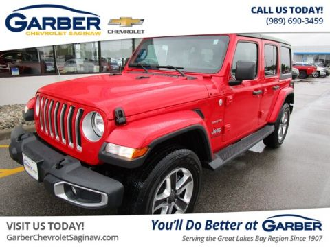 Pre-Owned 2018 Jeep Wrangler Unlimited Sahara 4WD