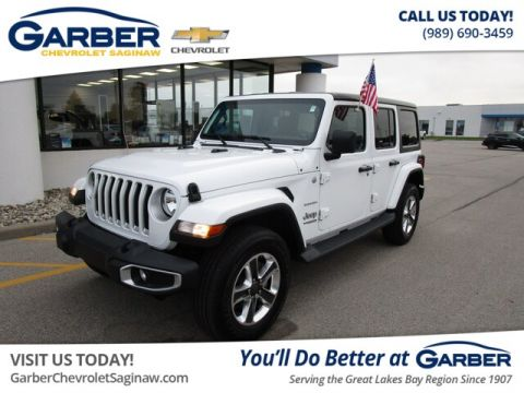 Pre-Owned 2019 Jeep Wrangler Unlimited Sahara 4WD