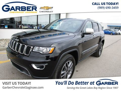 Pre-Owned 2020 Jeep Grand Cherokee Limited With Navigation & 4WD