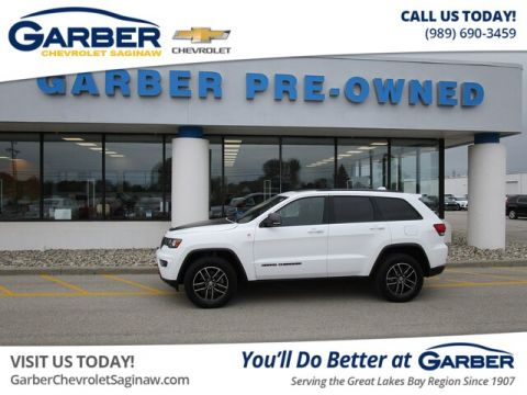 Pre-Owned 2017 Jeep Grand Cherokee Trailhawk 4WD