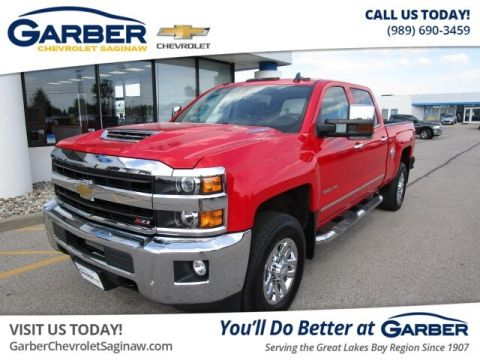 Pre-Owned 2019 Chevrolet Silverado 3500HD LTZ 4WD