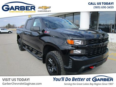Pre-Owned 2019 Chevrolet Silverado 1500 Silverado Custom Trail Boss