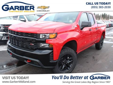 New 2019 Chevrolet Silverado 1500 Silverado Custom Trail Boss 4WD