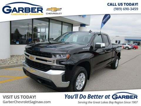 Certified Pre-Owned 2019 Chevrolet Silverado 1500 LT 4WD