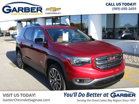 Certified Pre-Owned 2019 GMC Acadia SLT-1 AWD