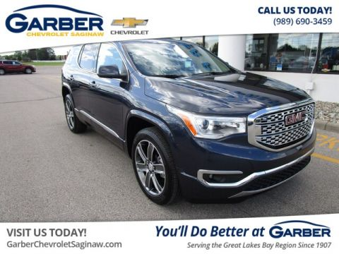 Certified Pre-Owned 2019 GMC Acadia Denali AWD