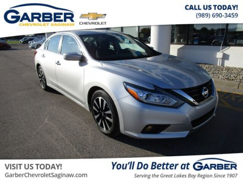 Pre-Owned 2018 Nissan Altima 2.5 SV FWD Sedan