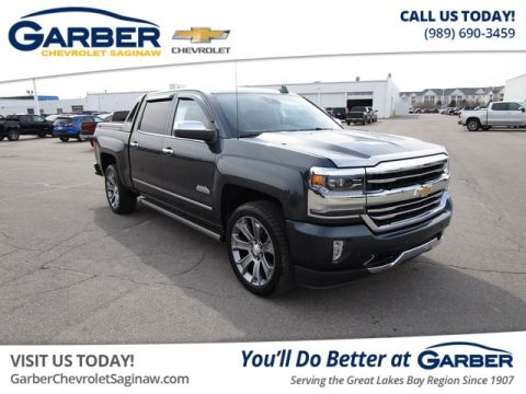 Pre-Owned 2017 Chevrolet Silverado 1500 High Country 4WD