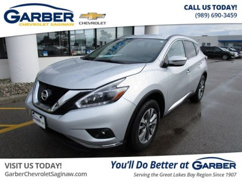 Pre-Owned 2018 Nissan Murano SV With Navigation & AWD